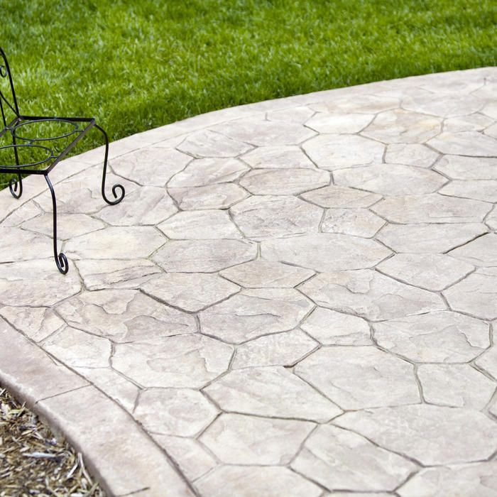 Learn how much it costs to Install a Stamped Concrete Patio. #deckcost