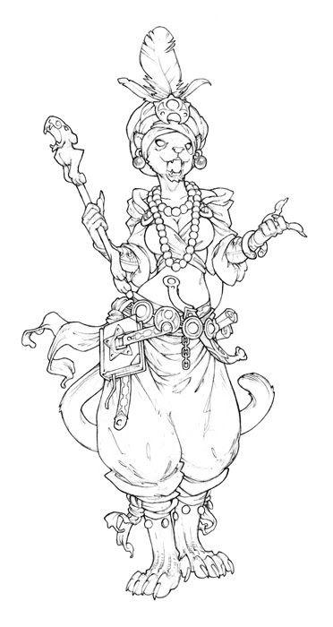Dahlia Ibn Malikh  By naïade, illustrateur freelance