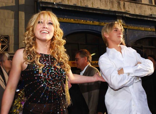 Hilary Duff wants Aaron Carter to stop professing his love for her.