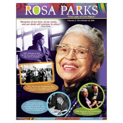 Trend Enterprises Rosa Parks Learning Chart (Set of 3)