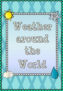 My weather around the world five lesson geography bundle which includes all planning, resources and assessment!