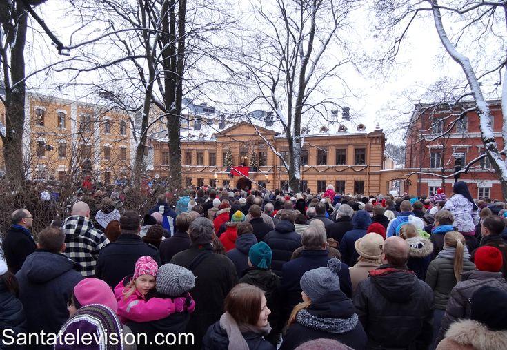 Verkündung des Weihnachtsfriedens in Turku in Südfinnland
