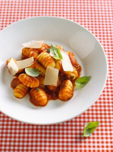 Gnocchi à la mamma met tomatensaus