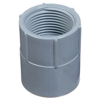 Carlon Conduit Fitting E942hrl 1 1 2 In Pvc Adaptor Electrical Conduit Fittings Pvc Pvc Conduit