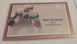 OTTO GRAHAM Browns 2000 Fleer GOTG Greats of the Game GOTG Card #16 Cleveland