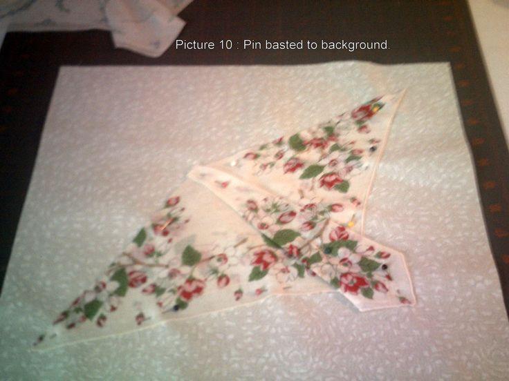Butterfly Hankie folding