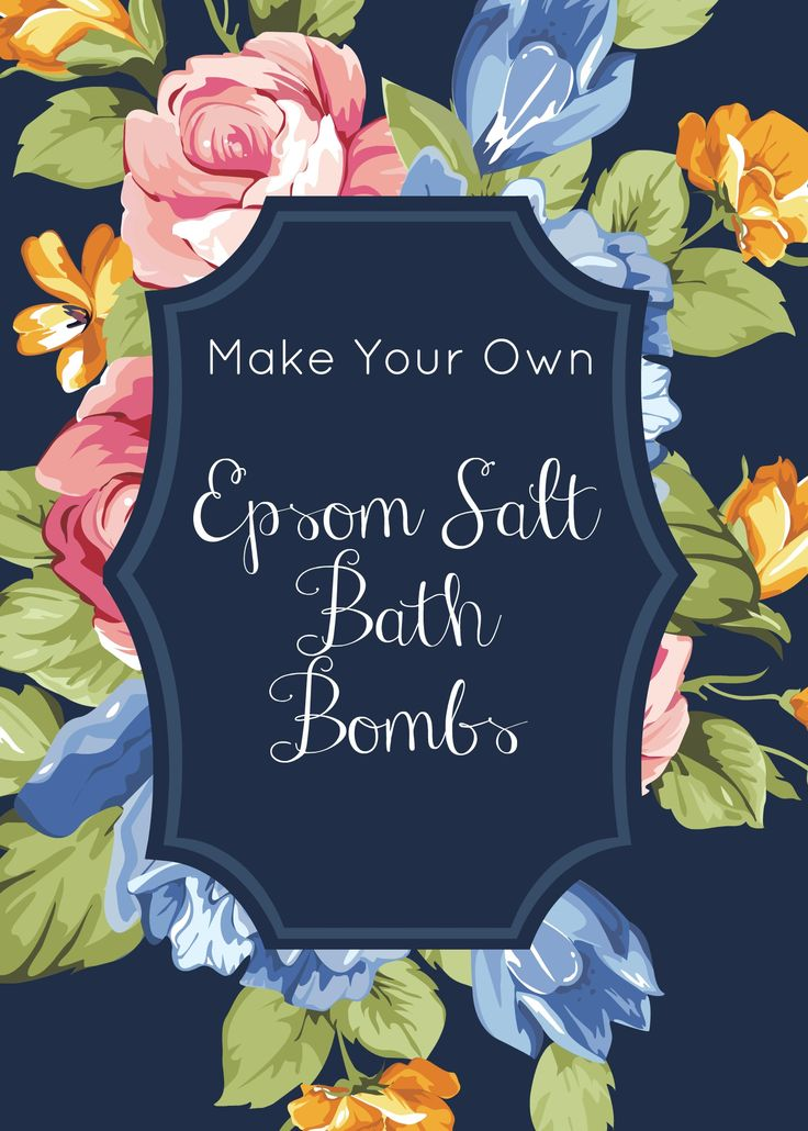 Epsom Salt Bath Bombs Epsom salt, magnesium sulfate, has many health benefits from soothing muscle aches, treating sunburn, and removing splinters. Check out the Epsom Salt Counsel website HERE to learn a more about the benefits of Epsom Salt and why Epsom Salt Bath Bombs are great way to add magnesium sulfate into your body and health treatment.