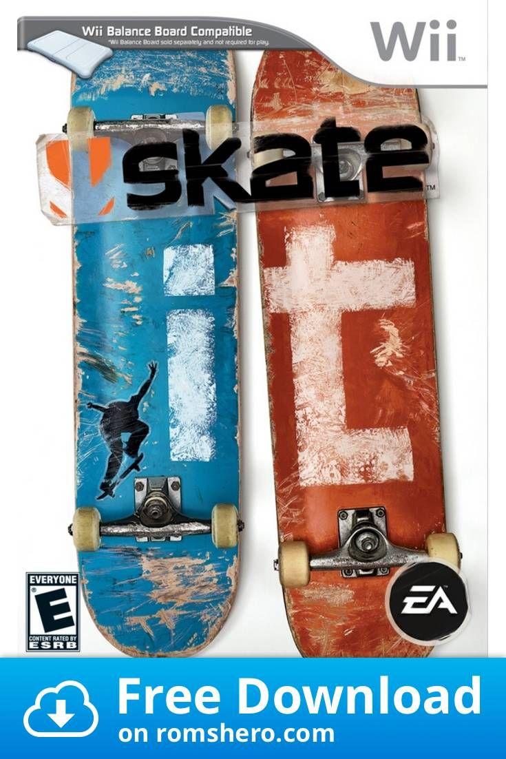 Download Skate It Nintendo Wii Wii Isos Rom In 2020 Wii Nintendo Wii Rom