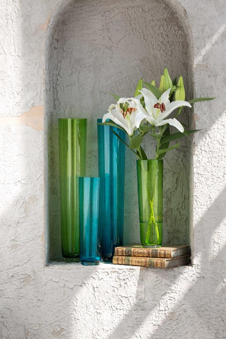 Entrega vida y color a tu #Hogar con estos floreros #Natura.   #Easy #Design #Decoracion #Puedo