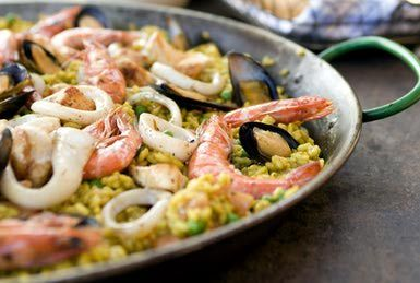 Paella de Marisco - Bridget Taylor/Photodisc/Getty Images