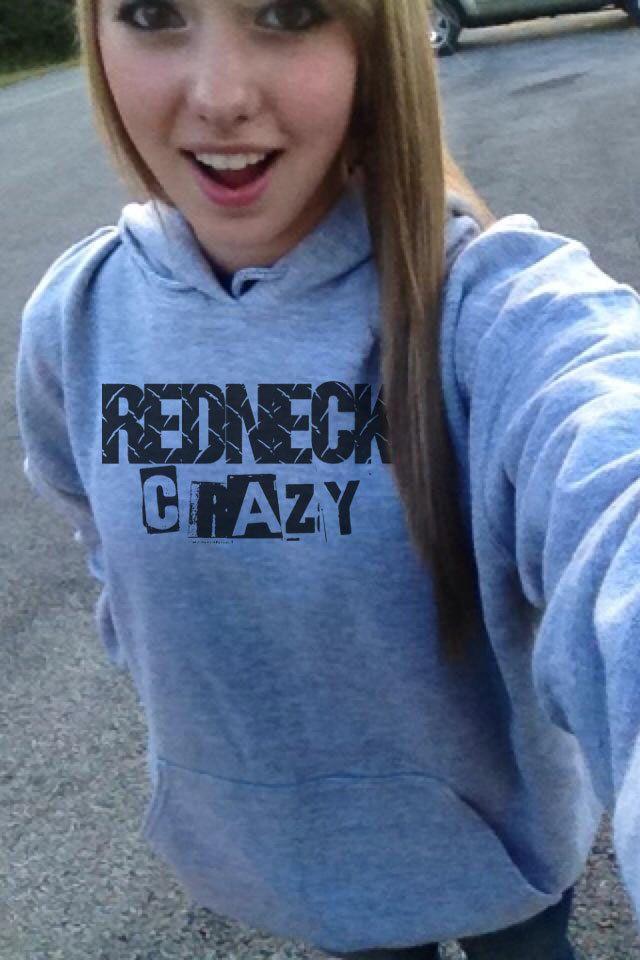 Redneck Crazy Country Hoodie Sweatshirt S M L Xl 2Xl 3 Xl Unisex by…