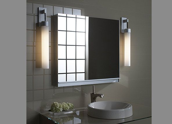 Robern cabinets   contemporary bathroom cabinets ship free  no tax  PL  Series  M Series  Robern Uplift   all mirrored bath cabinets on sale at  HomePerfect. 17 Best images about Inspiration on Pinterest   Bathroom lighting