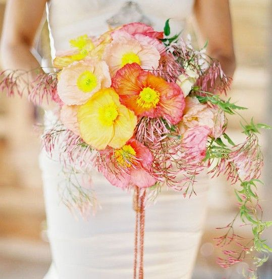 17 best fresh flowers images on pinterest bridal bouquets wedding poppy and jasminefloral and bouquet inspiration from httpbouquet mightylinksfo