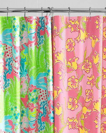 Lilly PulitzerR Sister Florals Shower Curtain