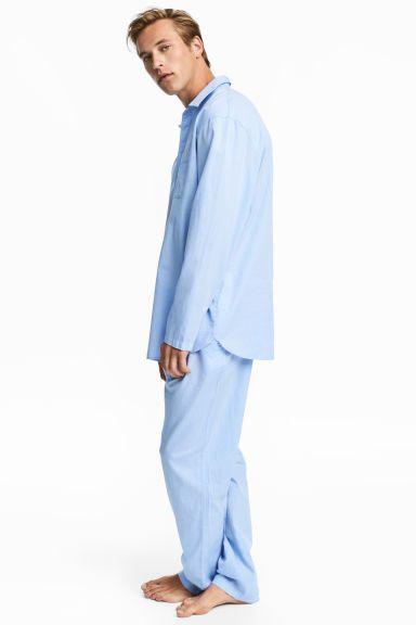 H&M - pigiama camicia e pantaloni, taglia M // 29,99€