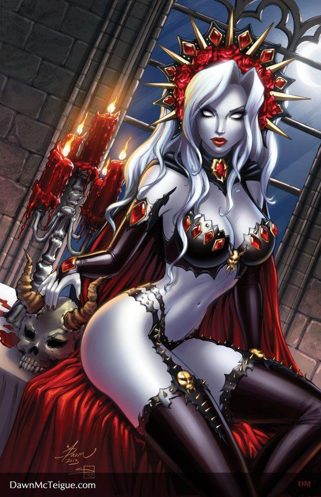 Lady Death: Shimmer #1 by Dawn-McTeigue