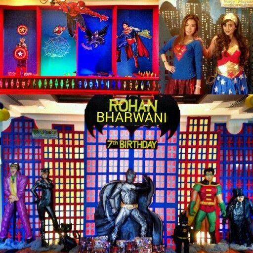 #Superhero #party at ceria room #ShangriLa hotel jakarta. By #wishmaster_eo #birthdayparty #partyplanner