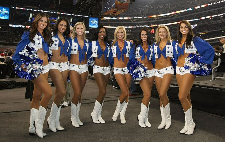 Dallas Cowboys Cheerleaders Bend Over | ... right that they can pay for the best looking cheerleaders in football