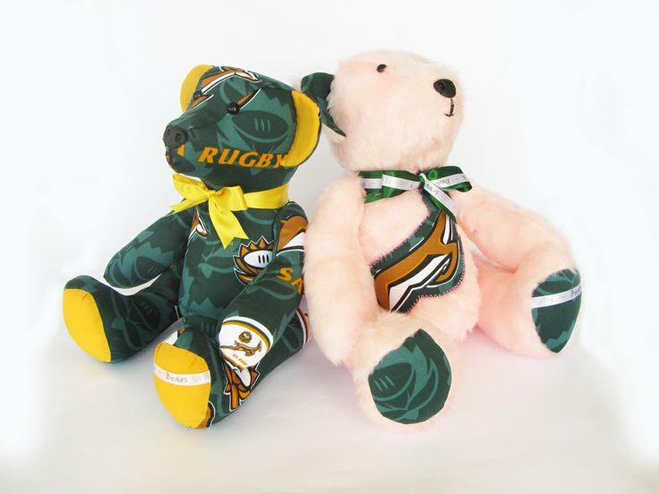 Springbok Duo #Springboks #Teddie_Bear
