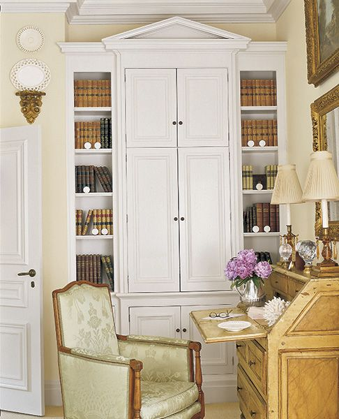 Library Den Atlanta Home Of Interior Designer Peggy: 96 Best Office Study Library