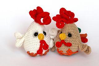 Funny chicken FREE pattern Ravelry