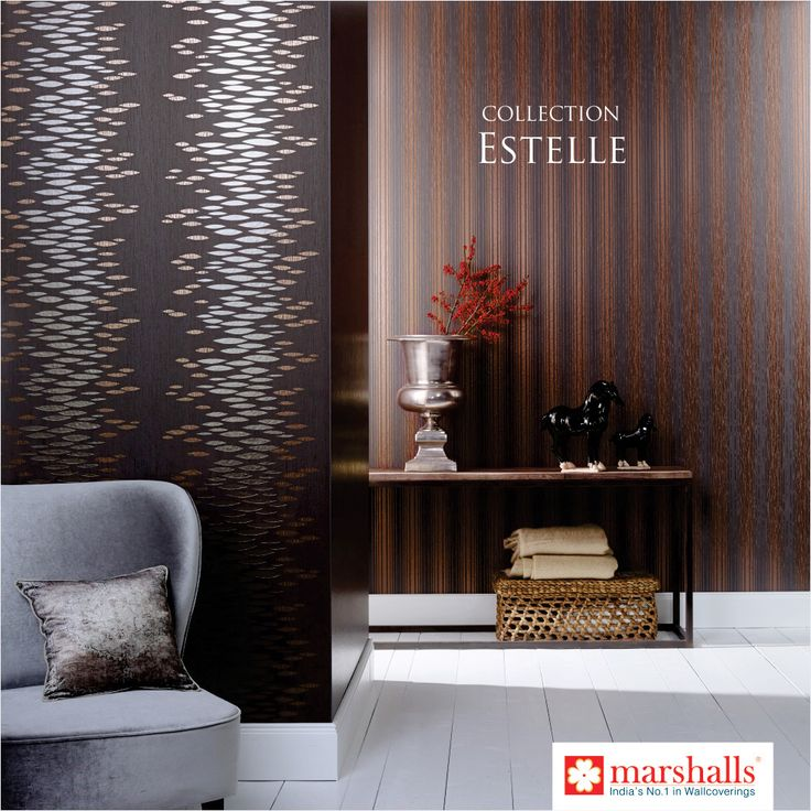 Its boring to live in same style, its a wise saying different is good. Bringing you the new #Estelle collection #OnlyFromMarshalls!! Explore more @ www.marshallswallcoverings.com #DesignerWalls #Wallpaper #WallDecor #WallcoveringsCollection #HomeInterior #DesignWalaColour #MarshallsWallcoverings