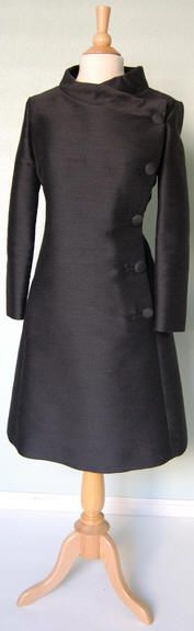 60's Charles Cooper space age coat style dress