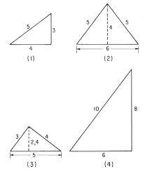 Resultado de imagen para perimetro equilatero triangulo