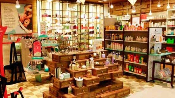 As 35 maiores varejistas do Brasil, segundo o Ibevar | EXAME.com \ Interior da loja da The Beauty Box em São Paulo, última investida do Grupo Boticário
