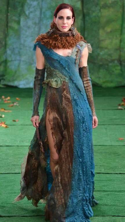 Dress pattern for felting with instructions by IrenaLevkovich