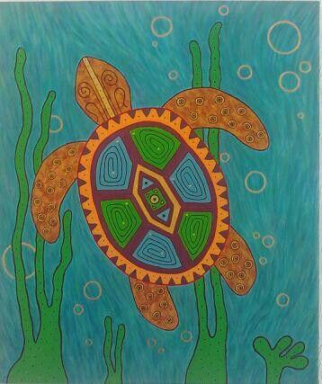Turtle (acrylic)