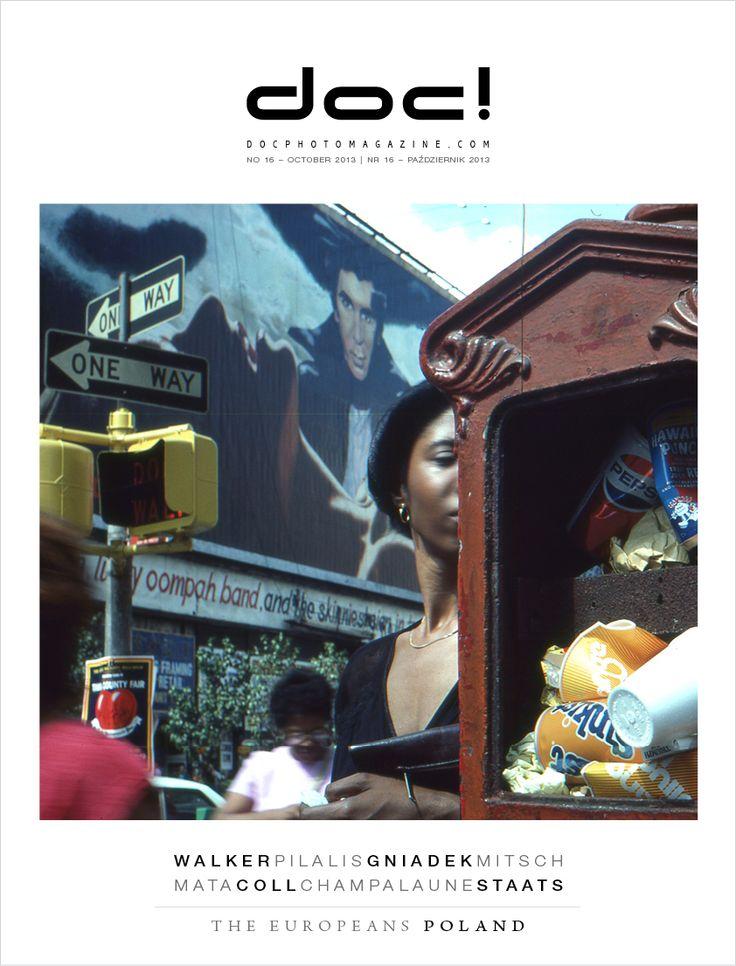 Cover of doc! photo magazine #16 Cover photo: Robert Walker