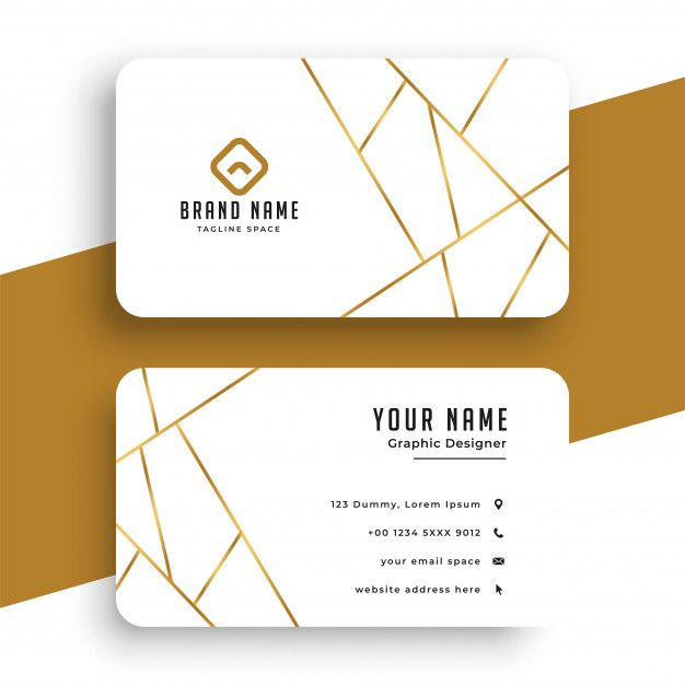 Download Elegant White And Gold Business Card Template For Free Modern Business Cards Business Cards Creative Business Cards Layout