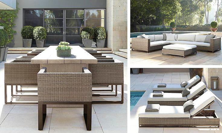 25 best ideas about restoration hardware outdoor furniture on pinterest restoration hardware - Restoration hardware patio ...