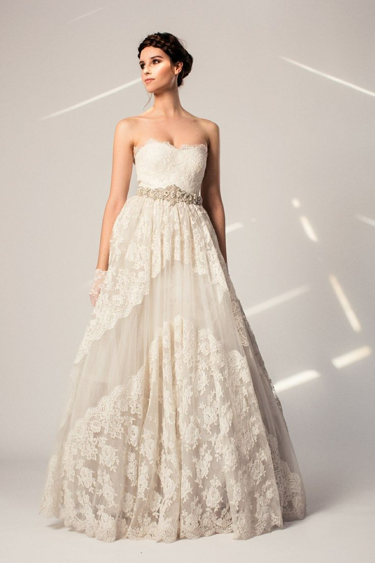 1300 best Bridal gowns images on Pinterest   Gown wedding ...