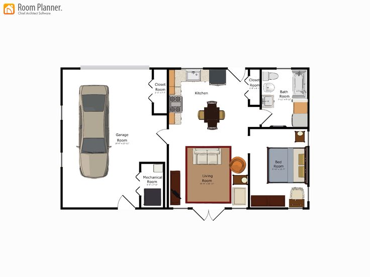 107 best Floor Plans images on Pinterest | Small house plans ...