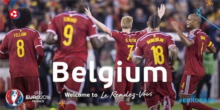 Congratulations, Belgium, on #EURO2016 qualification! Welcome to #LeRendezVous!