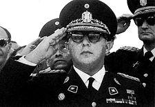 Marcos Evangelista Pérez Jiménez (Michelena, Venezuela, 25 de abril de 1914 - Alcobendas, España, 20 de septiembre de 2001) fue un militar con rango de General de División del Ejército de Venezuela y político venezolano, designado Presidente de la República de Venezuela provisionalmente por la «Junta de Gobierno» sustituyendo así a Germán Suárez Flamerich desde el 2 de diciembre de 1952 hasta el 19 de abril de 1953,