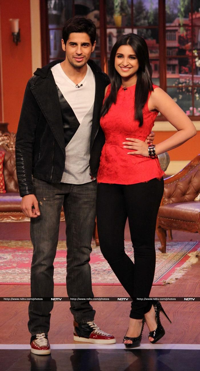 Sidharth Malhotra and Parineeti Chopra