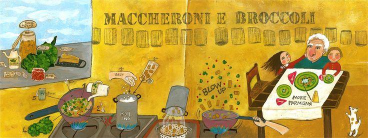 Maccheroni e Broccoli by Valentina Rossi