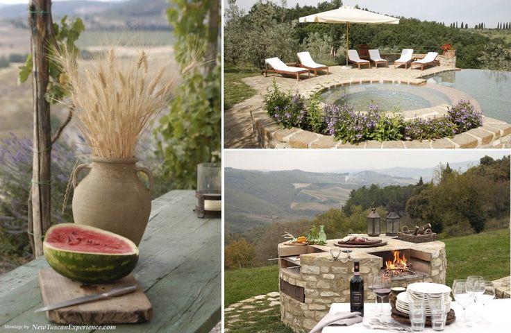 Summer Living at a Tuscan Villa
