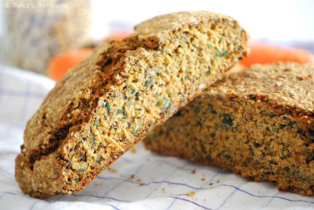 Kerniges Möhren-Quinoa-Brot [Glutenfrei abwandelbar!]