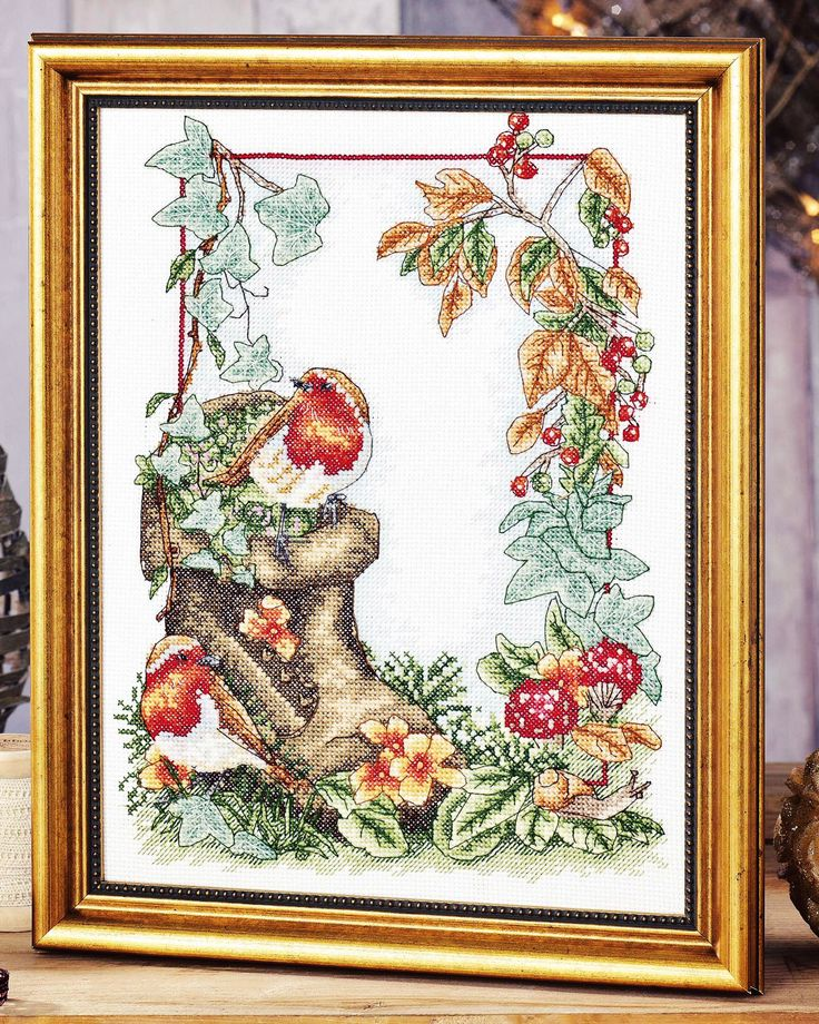 Morning Has Broken - Project available in Cross Stitch Gold Magazine issue 123