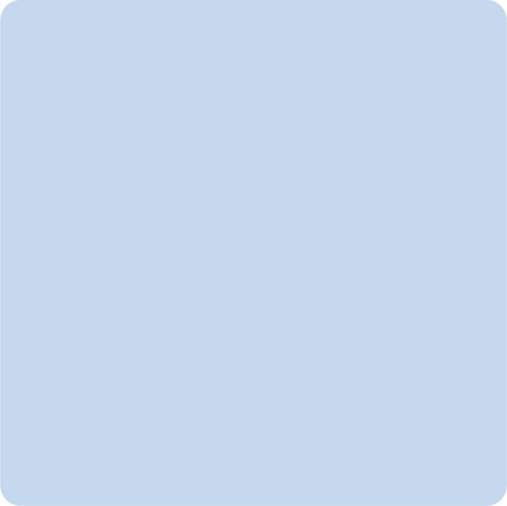 Ik kies voor dit babyblauw omdat het me doet denken aan de lucht.