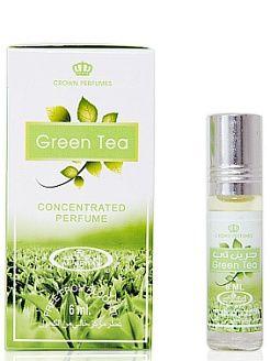 Арабские масляные духи Зелёный чай (Green Tea), 6 мл Al Rehab