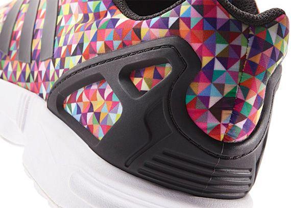 Adidas Zx Flux Multicolor Geometric