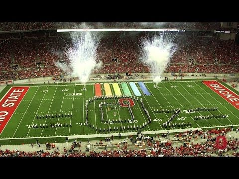 ▶ The Ohio State University Marching Band September 27 halftime show: The Wizard of Oz - YouTube