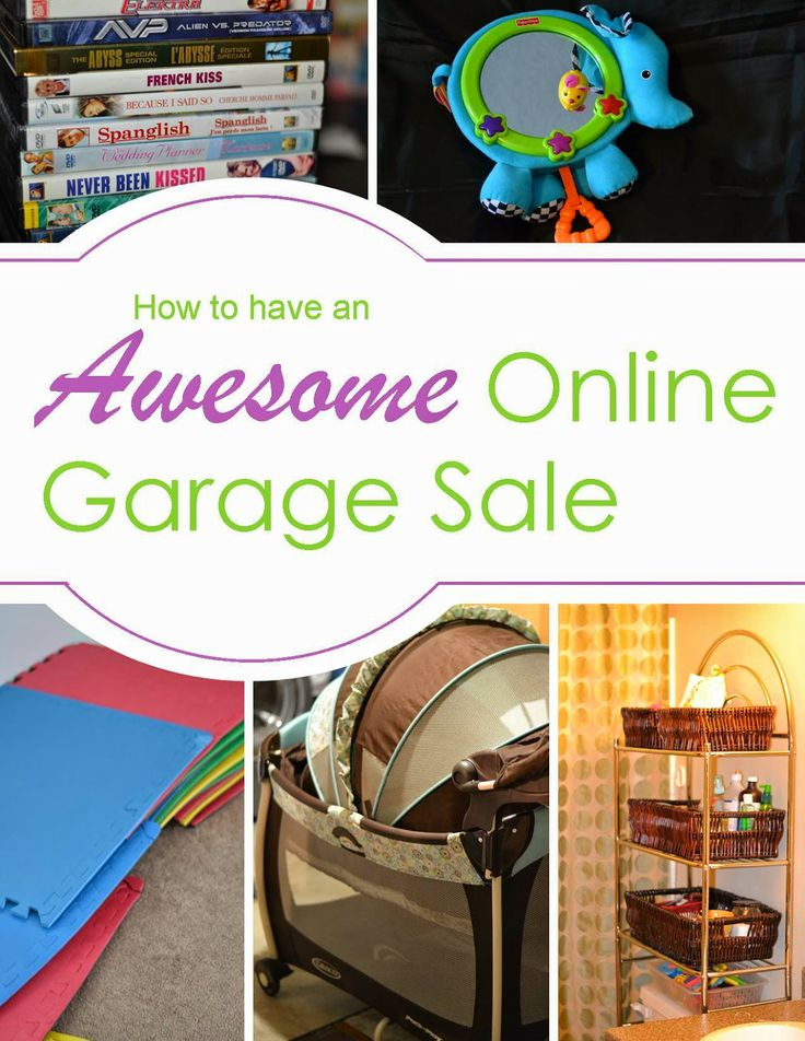 Spackalicious: How to do an Online Garage Sale