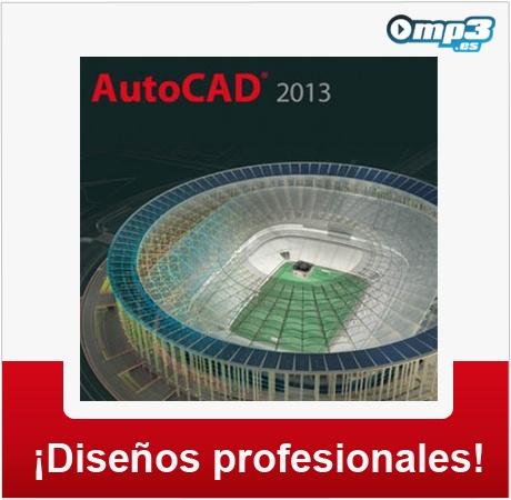 Autocad 2013, el major programa de diseño CAD - Crea diseños en 2D y 3D con resultados de excelente calidad. Esta herramienta es utilizada por los profesionales de varias disciplinas. Desde aquí puedes probar este programa:  http://descargar.mp3.es/lv/group/view/kl228705/AutoCAD_2013.htm?utm_source=pinterest_medium=socialmedia_campaign=socialmedia