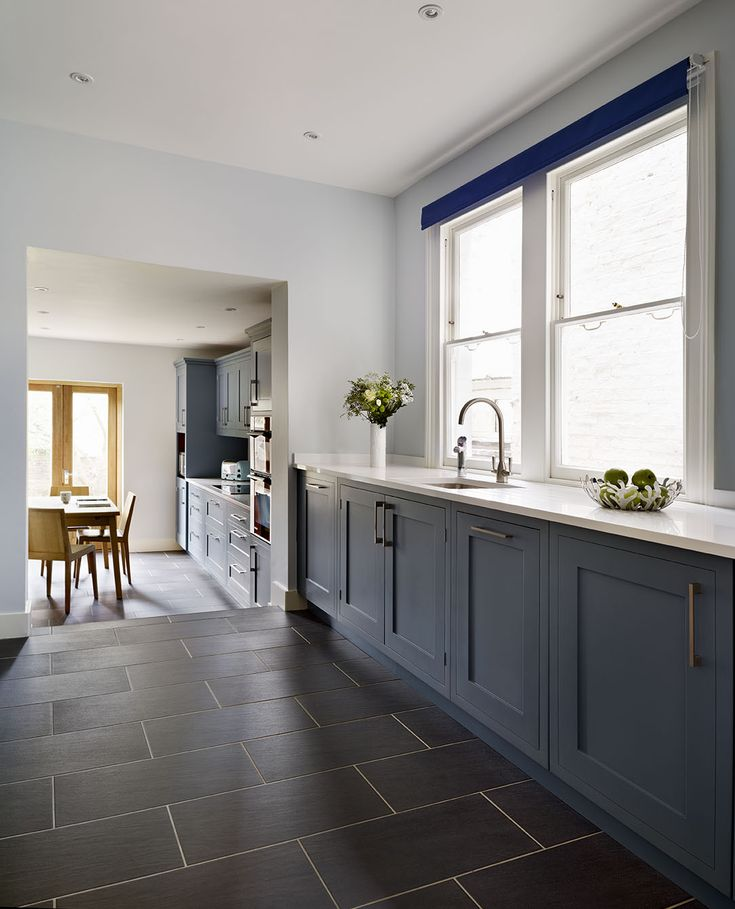 Bespoke Kitchen Design Painting roundhouse classic blue painted bespoke kitchen | kitchen
